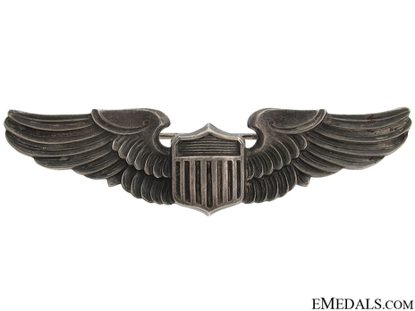 "Pilot Wings (with sterling silver) (by Amico, stamped ""AMICO"") Obverse"