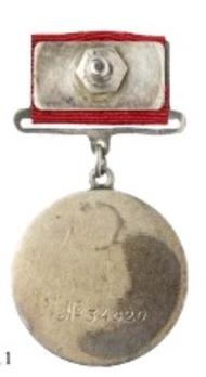 Medal for Combat Service, Type I, Medal (Variation II) Revers