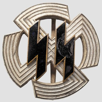 SS Germanic Proficiency Runes Badge, in Silver Obverse