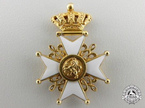 Miniature Grand Cross Reverse