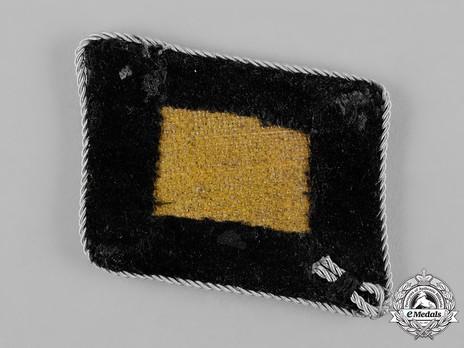 Waffen-SS Pre-1942 Gruppenführer Collar Tabs Reverse