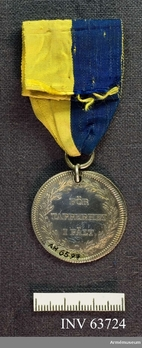 Silver Medal (Carl XIII) Reverse