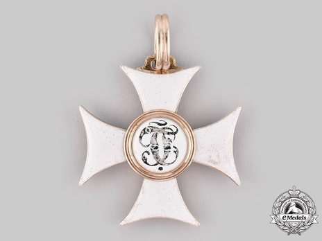 Order of Saint George, III Class Badge (in gold) Reverse