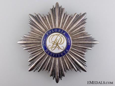 Order of Polonia Restituta, Commander Breast Star (1921-1939) Obverse