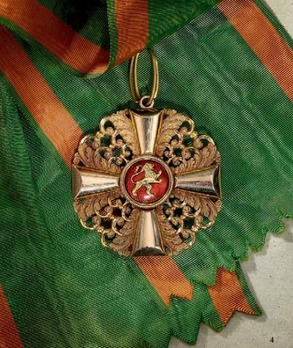 Order of the Zahringer Lion, Grand Cross with Diamonds, Andreas Thies, Rev