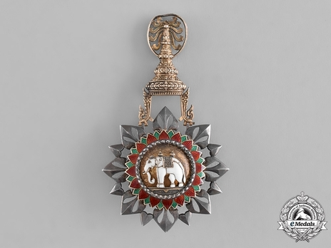 Order of the White Elephant Knight Grand Cross (I Class) (Gold/Silver) Obverse