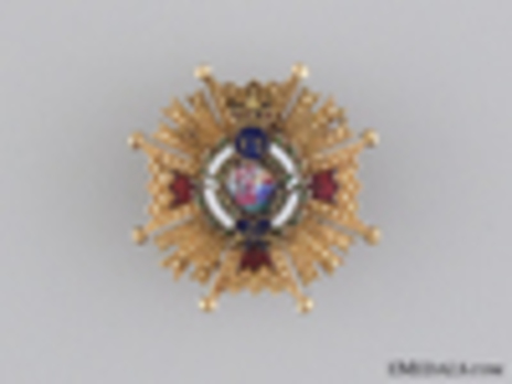 Miniature Grand Cross Breast Star Obverse