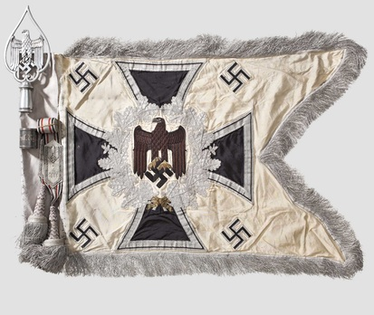 German Army General Army Unit Flag (Infantry Motorized and Mounted version) Obverse