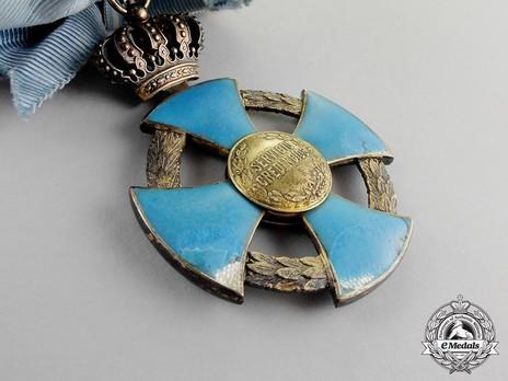 Order of Faithful Service, Grand Cross Reverse