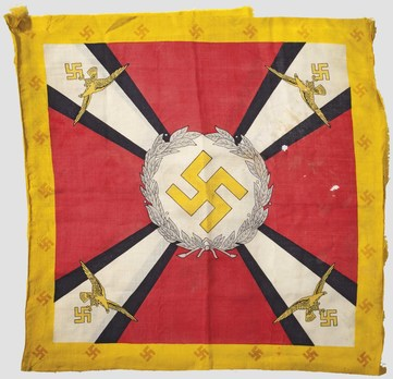 Luftwaffe Command Flag for the Reich Minister for Aviation and Commander-in-Chief of the German Air Force (1935-1938 version) Obverse