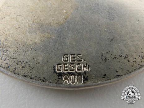 NSV Merit Brooch Reverse