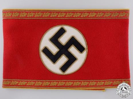 NSDAP Leiter einer Hauptstelle Type II Reich Level Armband Obverse