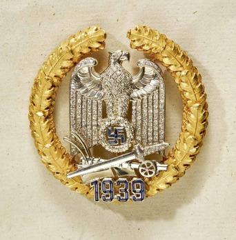 Gau Honour Badge Wartheland with Diamonds, Large