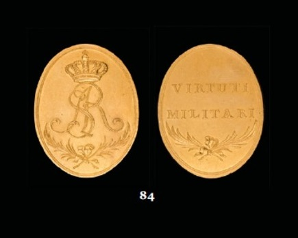 Order of Virtuti Militari, Type I, Gold Medal
