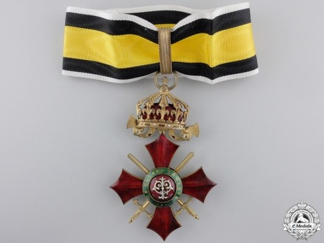 Order of Military Merit, III Class (1900-1933) Obverse