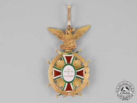 Order of Guadalupe, Type III, Grand Cross Reverse
