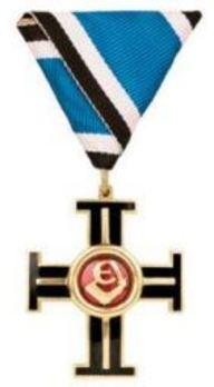 Cross of Liberty, II Grade, I Class Obverse