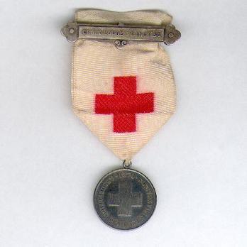 "Silver Medal (with ""CROIX ROUGE FRANÇAISE"" suspension clasp) Obverse"