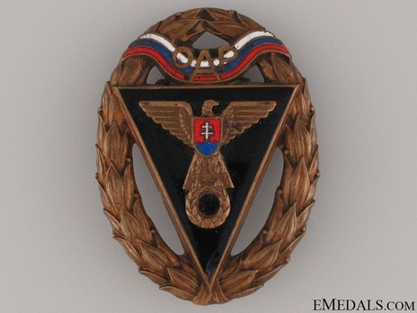 Army Racing Team OAP Badge, III Class Obverse