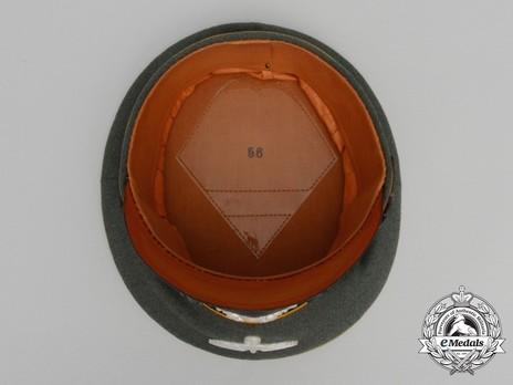 German Army Cavalry NCO/EM's Visor Cap Interior
