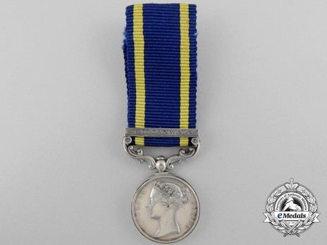 """Miniature Medal (with """"CHILIANWALA"""" clasp) Obverse"""