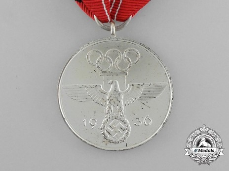 Olympic Games Commemorative Medal Obverse