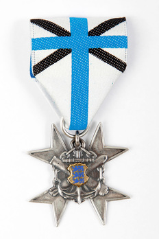 Navy Merit Cross, in Silver Obverse