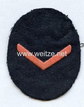 Naval HJ Sea Sport Qualification Badge A level Obverse