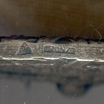 Silver Medal (1963) (Silvered bronze by Arthus-Bertrand) Rim Detail