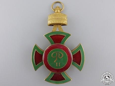 Order of Emperor Menelik II, Grand Cross Reverse