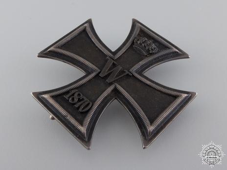 I Class Iron Cross (Wagner) Reverse