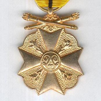"""I Class Medal (with """"1940-1945"""" clasp) Obverse"""