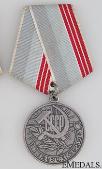 Veteran of Labour Medal Obverse