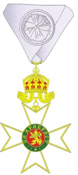 Order for Bravery, I Class Obverse