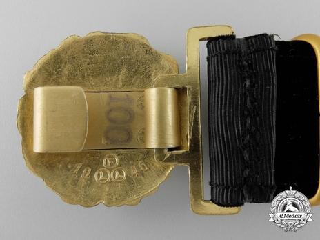 Kriegsmarine Officer's Undress Belt Buckle Reverse