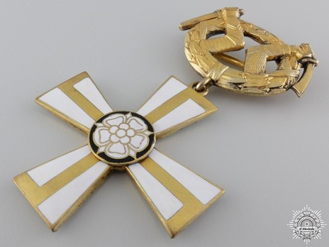 Order of the Cross of Liberty, Military Division, II Class Commander (1918) Obverse
