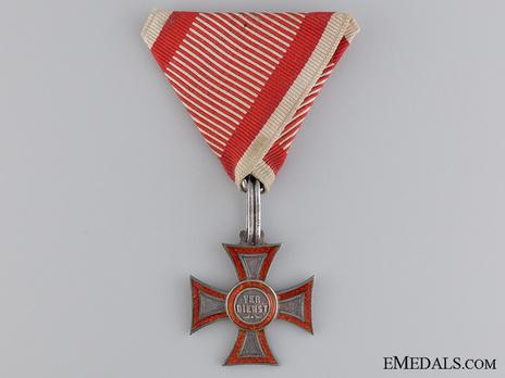 Type I, Civil Division, Silver Cross Obverse