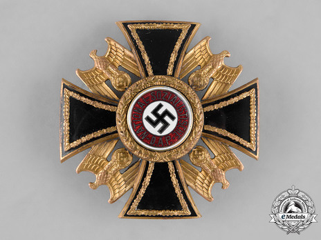 German Order, III Class Cross Obverse