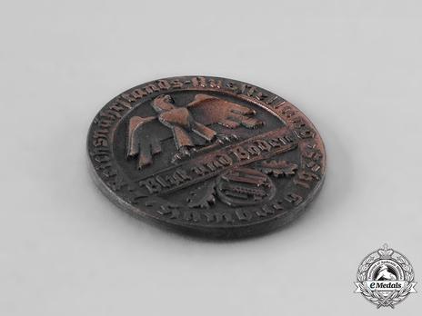 Exhibition Badge Hamburg, 1935 (small) Obverse