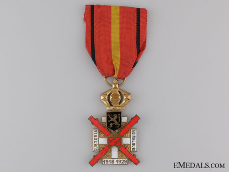Cross for the Occupation of the Rhineland (for Service from 1918-1929) Obverse