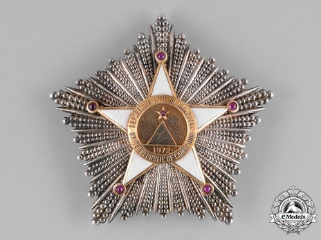 Order of Valour, Grand Cross Breast Star Obverse