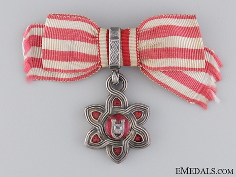III Class Decoration (for ladies) Obverse