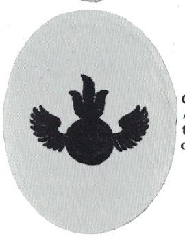 Kriegsmarine Gun Chief Anti-Aircraft (Unit Training) Insignia Type II Obverse