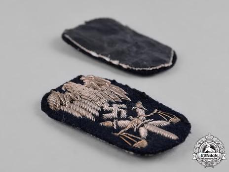 Kriegsmarine Officials' High Career Judicial Insignia Detail