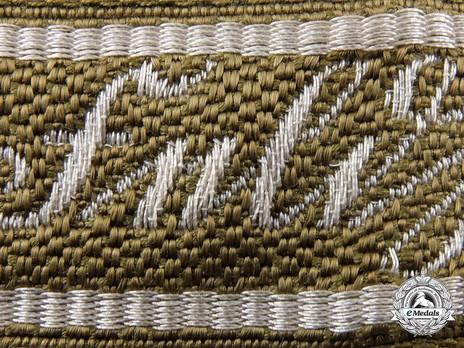 German Army Feldherrnhalle Cuff Title Obverse Detail 2