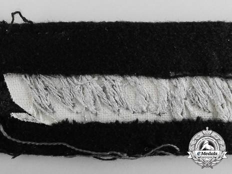 German Army Großdeutschland Cuff Title (Sütterlin version) Reverse Detail