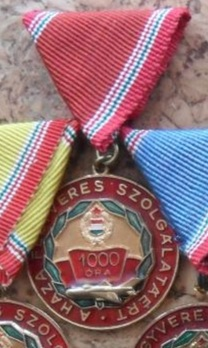 Air Force Distinguished Service Medal, VI Class (for 1000 hours) Obverse