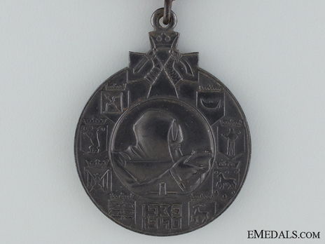 """Winter War Medal, Type II (with clasp """"LAPPI"""") Obverse"""