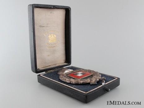 Miniature Observers' Badge Case of Issue (by C.E. Junker, Berlin) Open