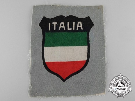 German Army Italy Sleeve Insignia (1st version) Obverse